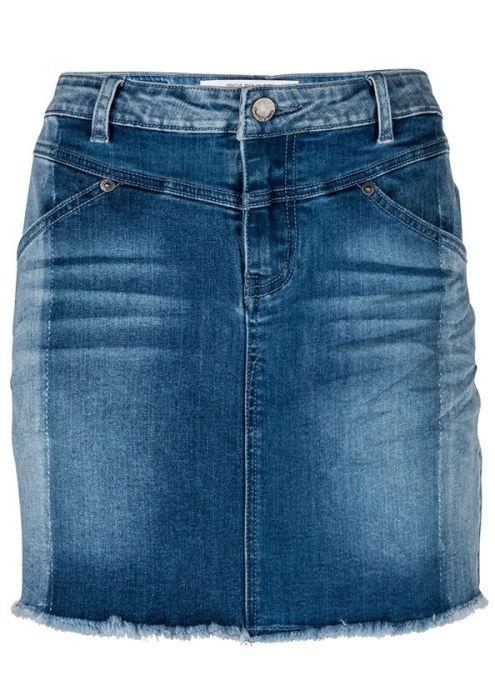Sage Skirt 3 Shades Of Blue