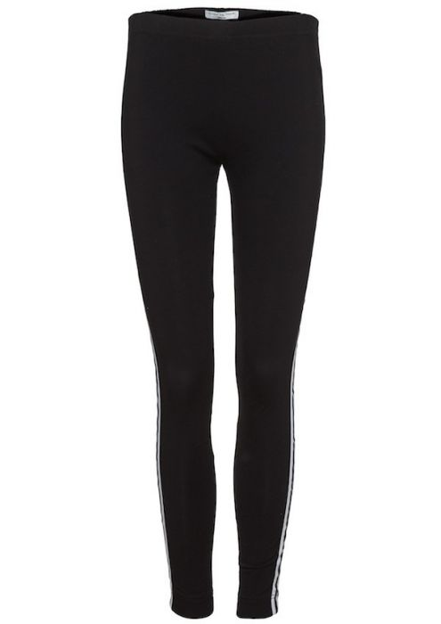 Zoe Legging Carbon White Stripe