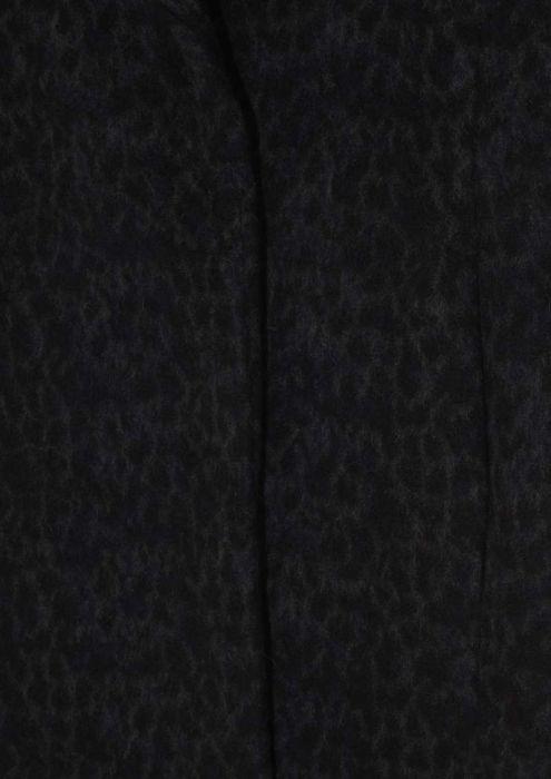 Seven Coat Dark Grey Leopard