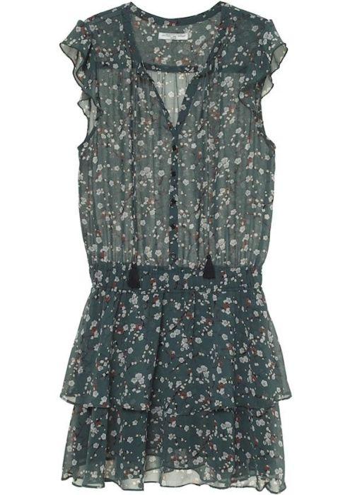 Gaby Dress Blossom Green