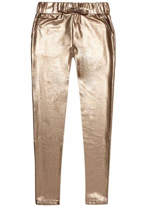 Girls Robyn Jogg Gold Metallic