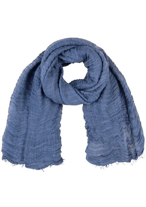 Debby Scarf Jeans Blue
