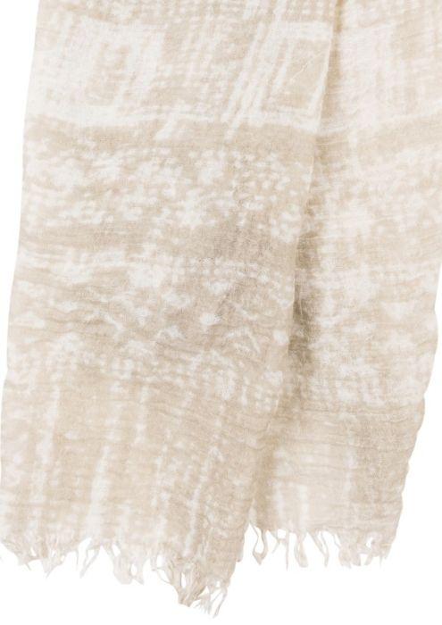 Batik Scarf Desert Taupe