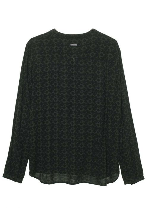 Girls Ash Blouse Dark Army
