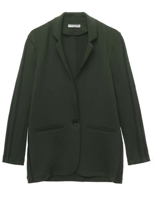 Girls Reed Blazer Dark Army