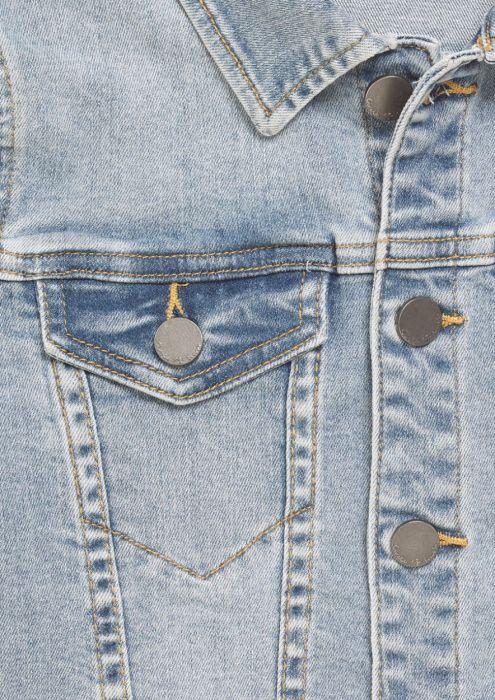 Girls Mara Denim Jacket Light Tumble Wash