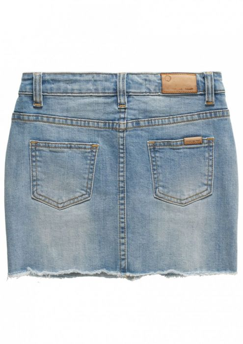 Girls Sage Skirt Light Tumble Wash