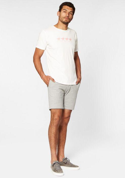 Montez Short Light Grey Melange