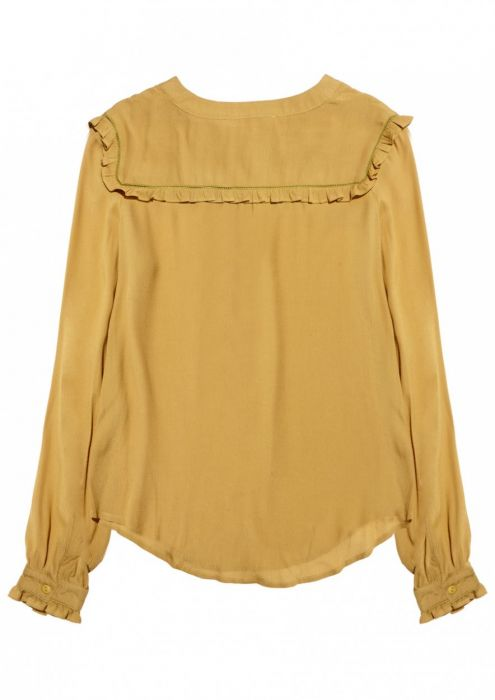 Girls Merci Blouse Bright Brass