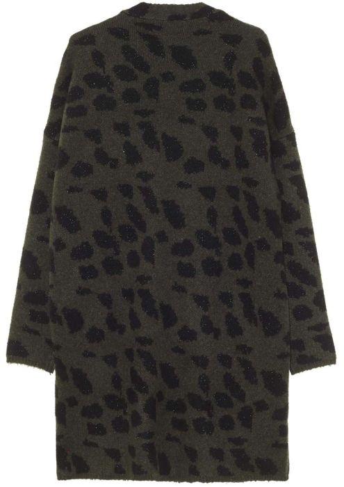 Girls Nowy Leopard Dark Army