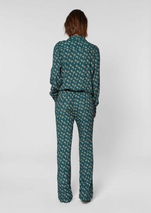Zaza Suit Paisley Print