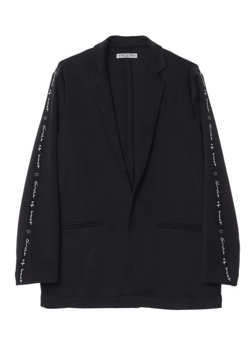 Girls Robyn Blazer Jet Black