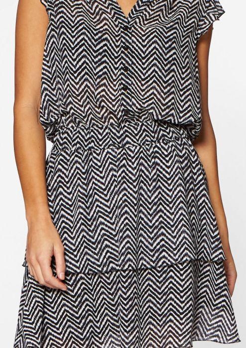 Gaby Dress Crazy Zebra