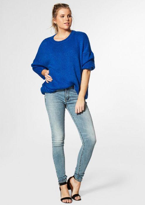 Jessie Knit Bang blue