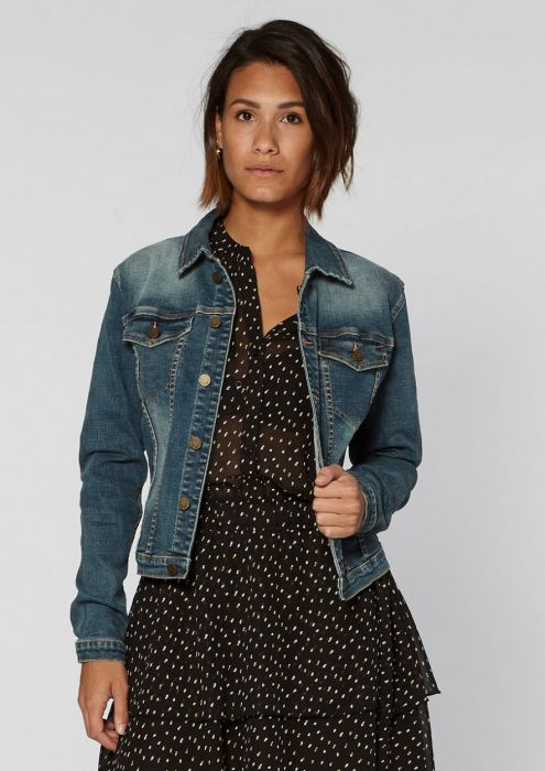 Mara Denim Jacket Ocean Mist Wash