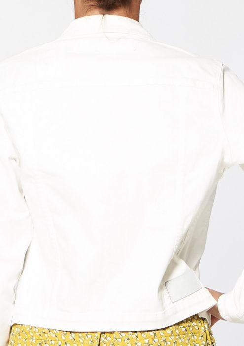 Mara Jacket White 2nd Hand Wash