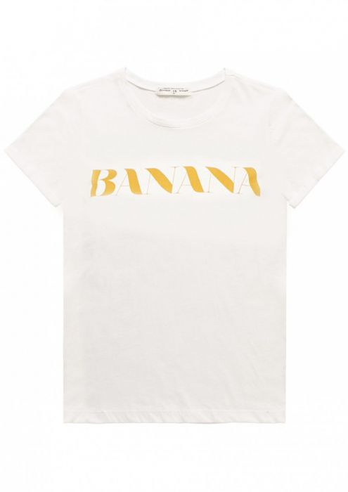GIRLS PARADISE TEE Banana