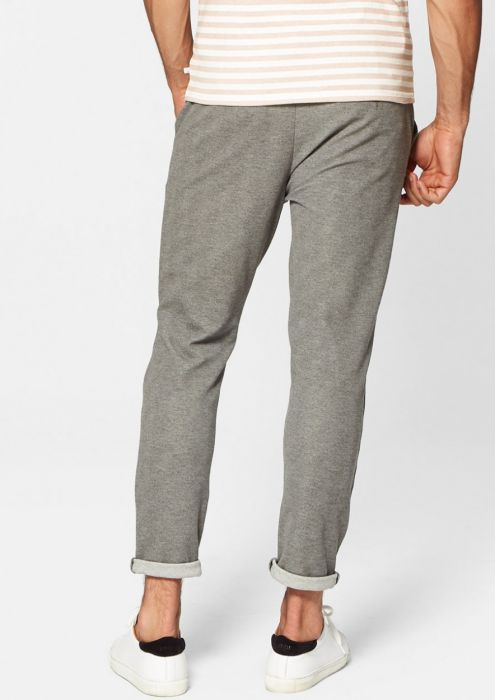 CHAZ CHINO Light grey melange