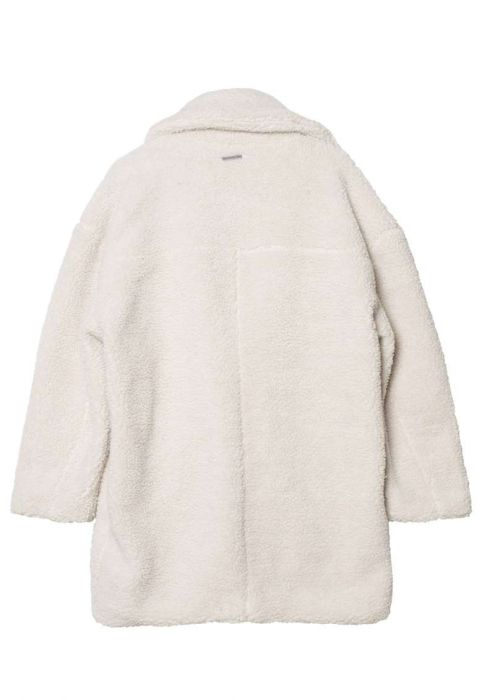 Girls Lori Coat Off White