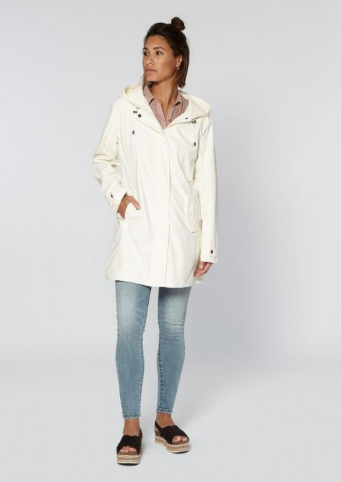 Blake Raincoat White Dust