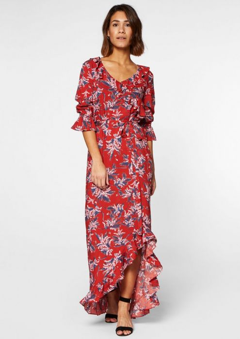 Luna Long Dress Red Rules