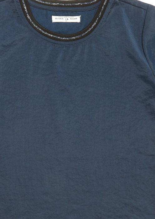 Girls Nicole Shirt Donkerblauw
