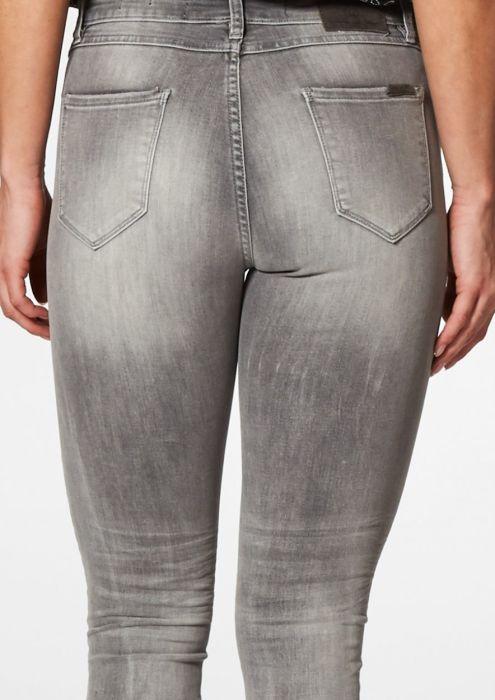 Basil Washed Grey - Skinny Fit