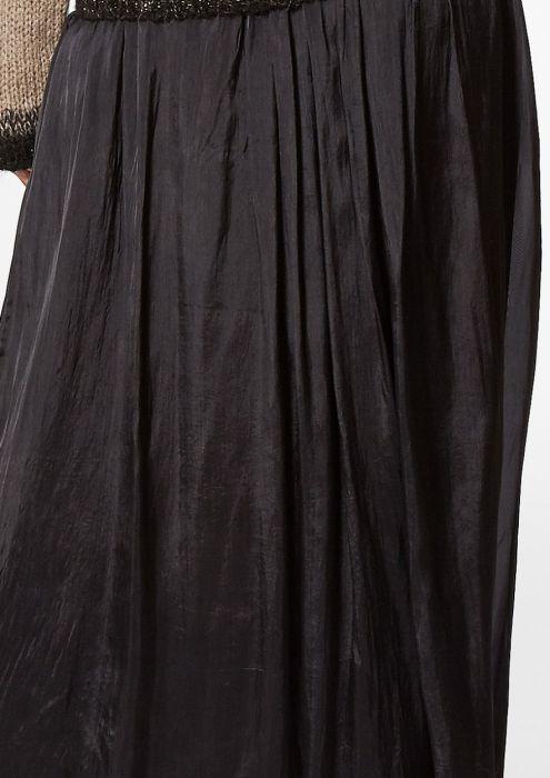 Abbie Skirt Dark Asphalt