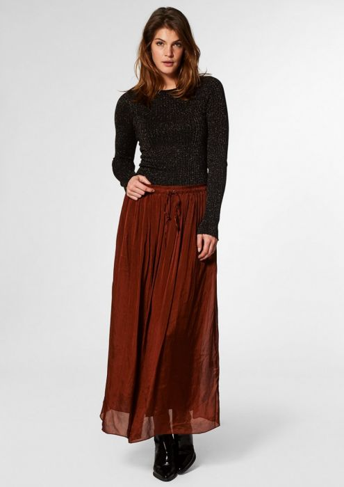 Abbie Skirt Rusty Brown