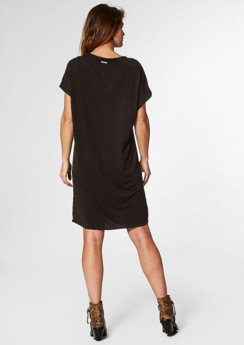 Juda Dress Black Iris