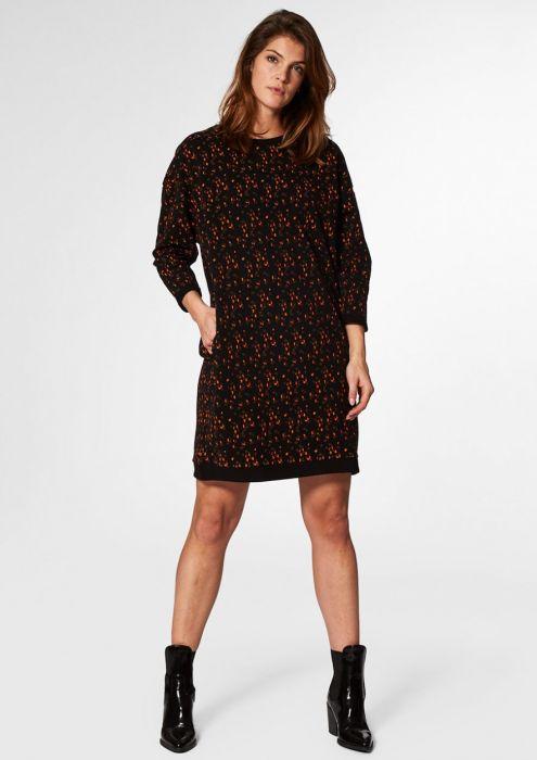 Zelia Dress Rain Print