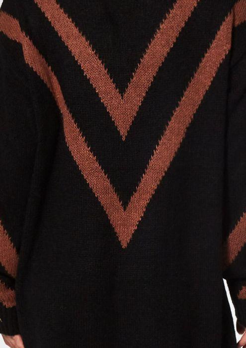 Jazz Knit Dress Rusty Brown
