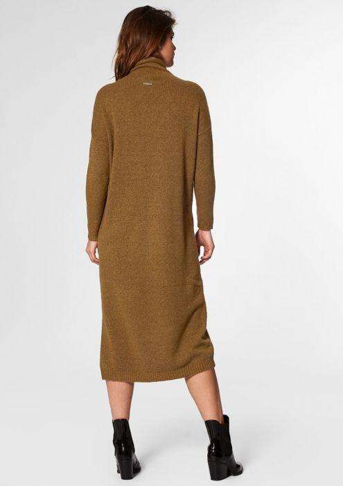 Maggie Knit Dress Dark Leaf