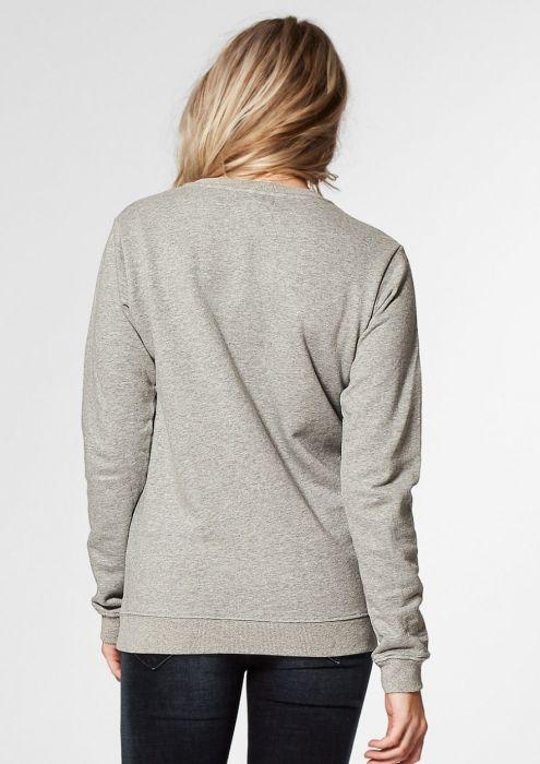 Piper Sweat Grey Melange