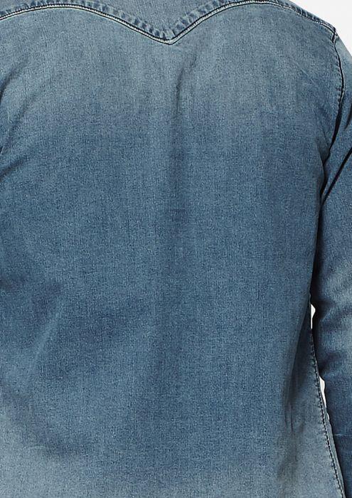 Daen Denim Shirt Blue Stone
