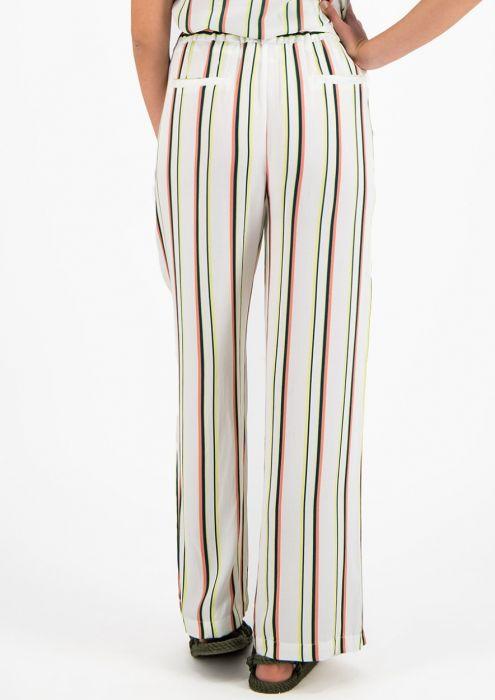 Samie Broek met Multi-Color Streeppatroon