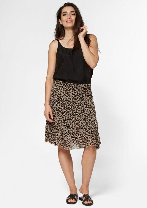 Fame Skirt Leopard
