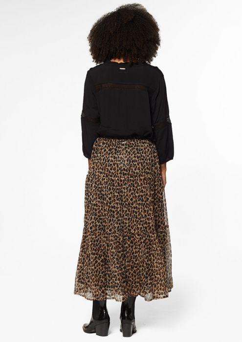 Tara Skirt Leopard