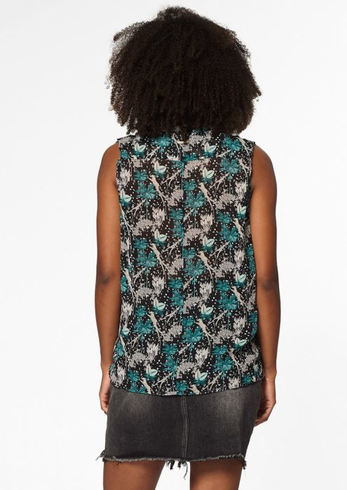 Holly Top met  Jungle Print