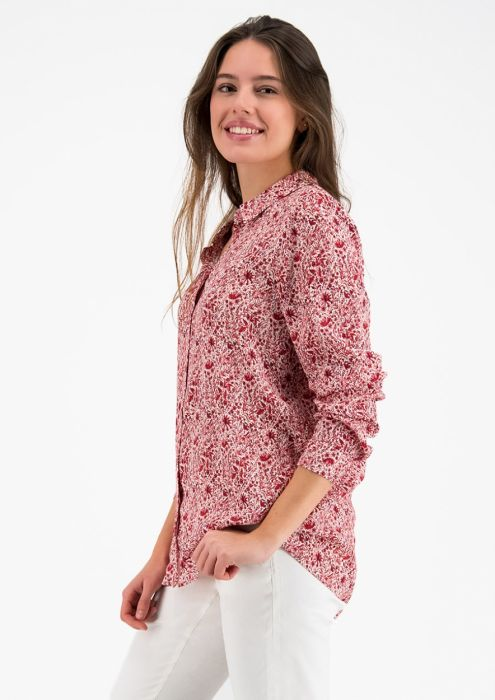 Lisanne Blouse met All-Over Floral Print