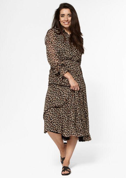 Ivana Dress Leopard