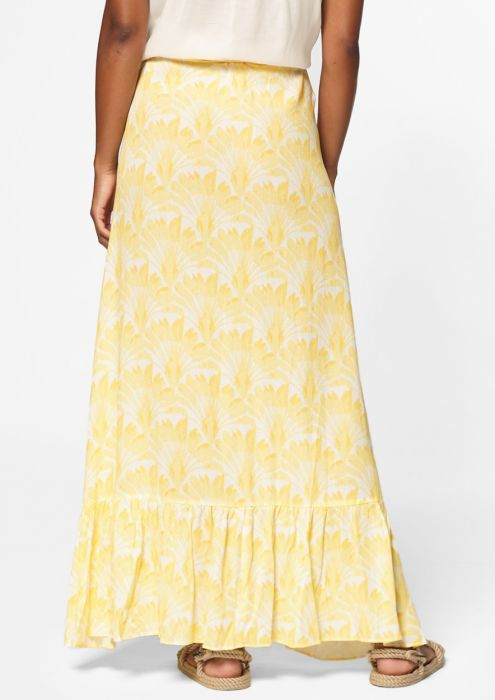 Emmy Wrap Skirt Yellow Brush