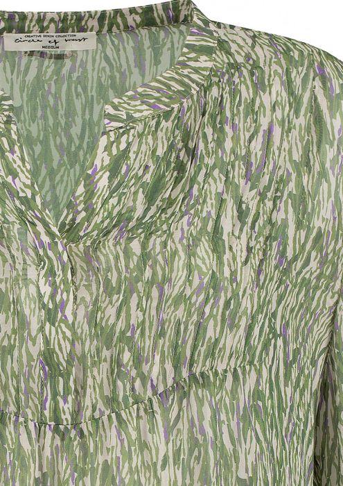 Carry Blouse Green Grass