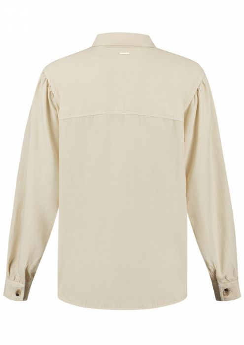 Peggie Blouse Poached Egg