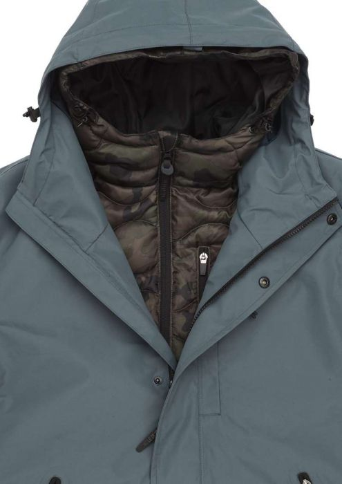 Gunnar Jacket Grey Cloud