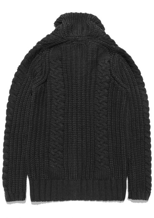 Heston Vest Charcoal Melange