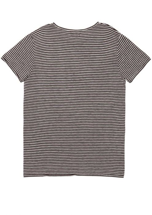 Ace Tee Stripe Red Graphite
