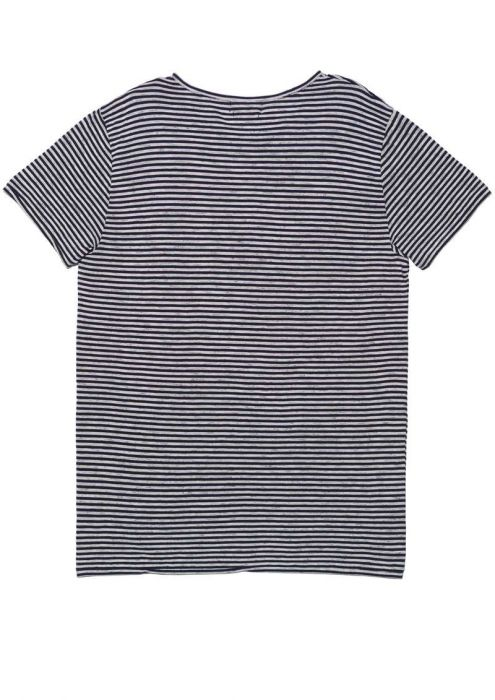 Ace Tee Stripe Dark Mulberry