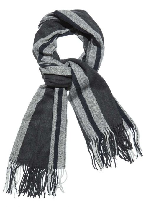 Rory Scarf Charcoal Melange