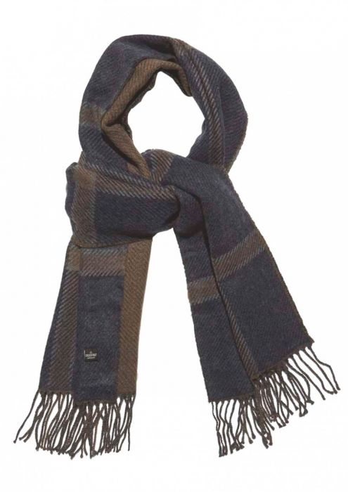 Weston Scarf Dark Mulberry